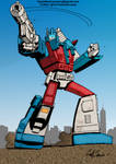 Colours on Geoff Senior's Ultra Magnus