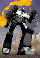 Colours on Geoff's Megatron by hellbat