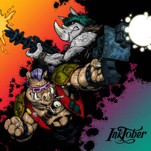 Colours on C J Edwards' Beebop and Rocksteady