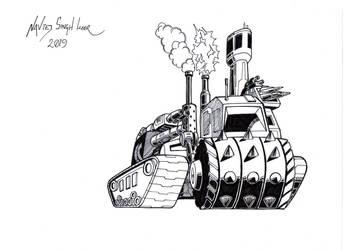 Steamroller by hellbat