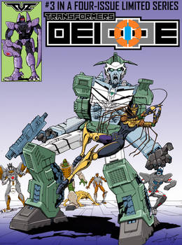 Transformers Deicide Issue 3 cover colours