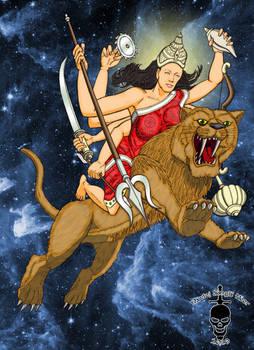 Durga coloured