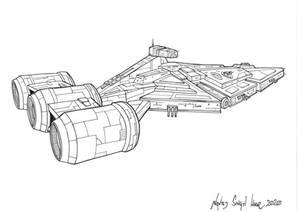 Imperial Light Cruiser inks