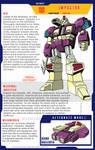 Impactor profile page