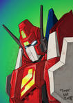 Colours on Nick Roache's Star Saber