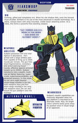 Fearswoop profile page