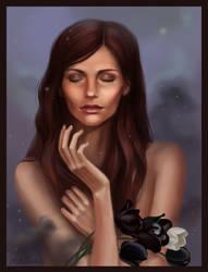 black flowers by mattias17