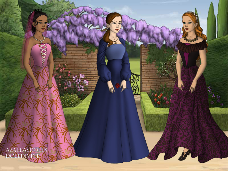 Three Best Friends By Giftedgoddessof Art