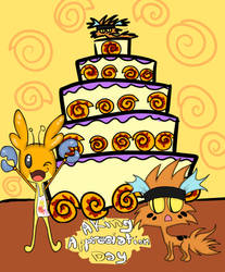 Ickle Bakes A Cake by Queeni-The-Kat
