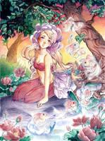 Chrysanteme by Tiali
