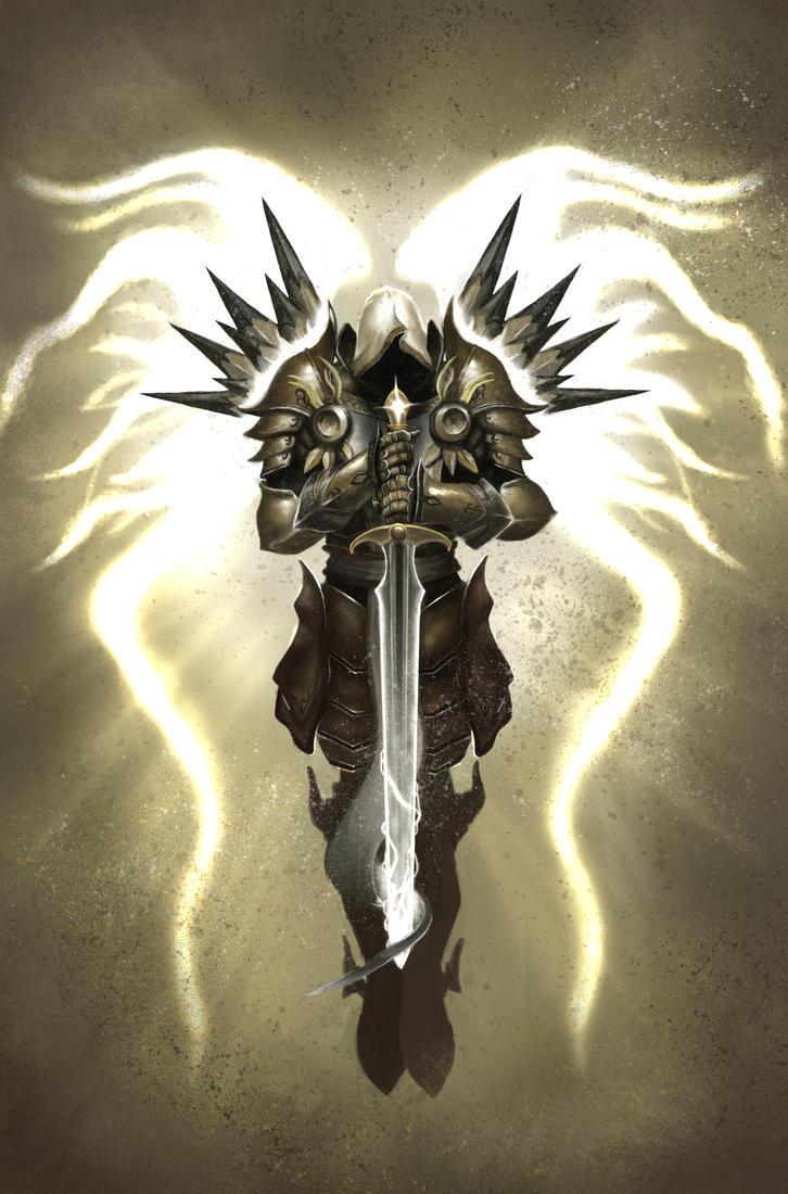 Tyrael Archangel Of Justice By Shidiwenbrown On Deviantart