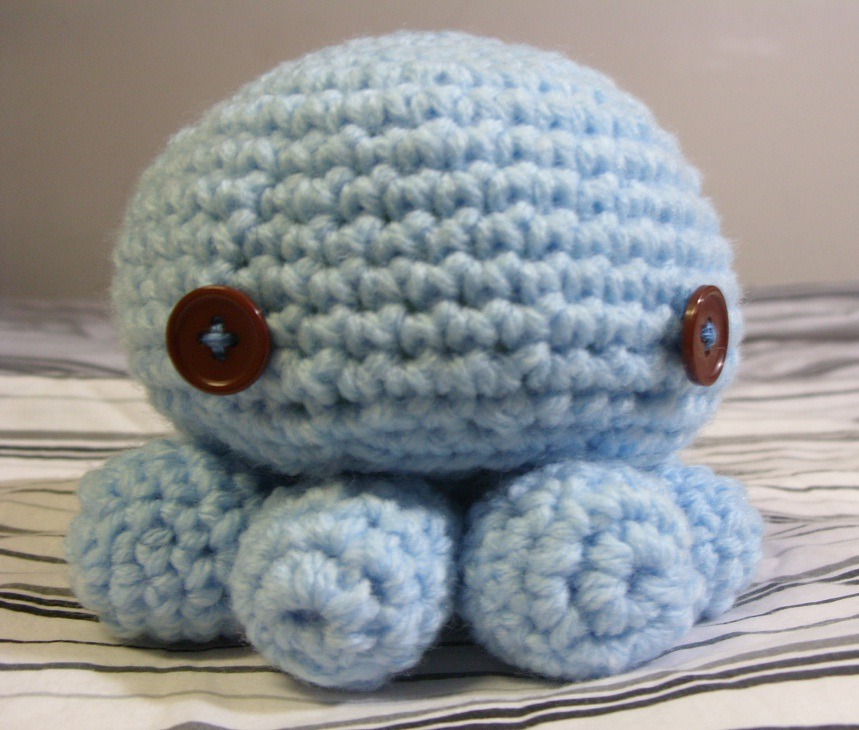 Octopus Pattern Crochet Amigurumi Octopus Pattern by