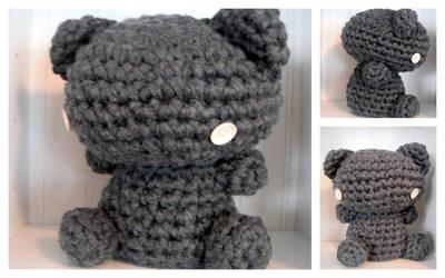 Amigurumi Teddy Bear by TheSlushie