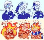 Miser Brothers Doodles