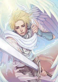 Anime Angels featured art - Battle Angel