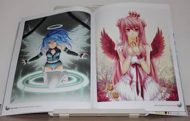 Anime Angels artbook - interior art photo #1