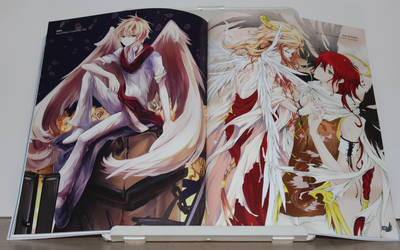 Anime Angels artbook - interior art photo #2