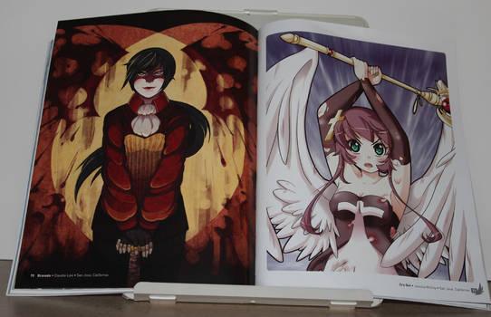 Anime Angels artbook - interior art photo #4