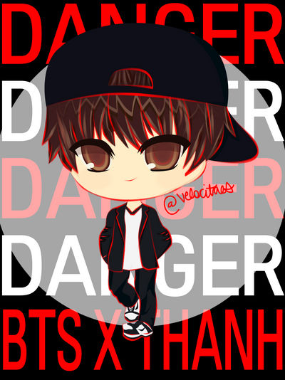 V Danger BTS x THANH by lvlkatty on DeviantArt