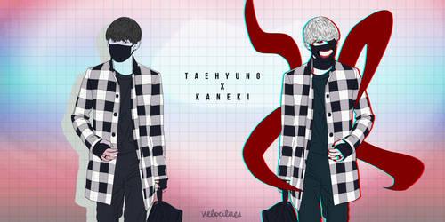 Taehyung x Kaneki by lvlkatty