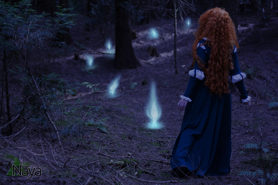 Brave - Following the ghost lights by goddessnaya