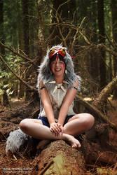 Priness Mononoke: Fun in the forrest