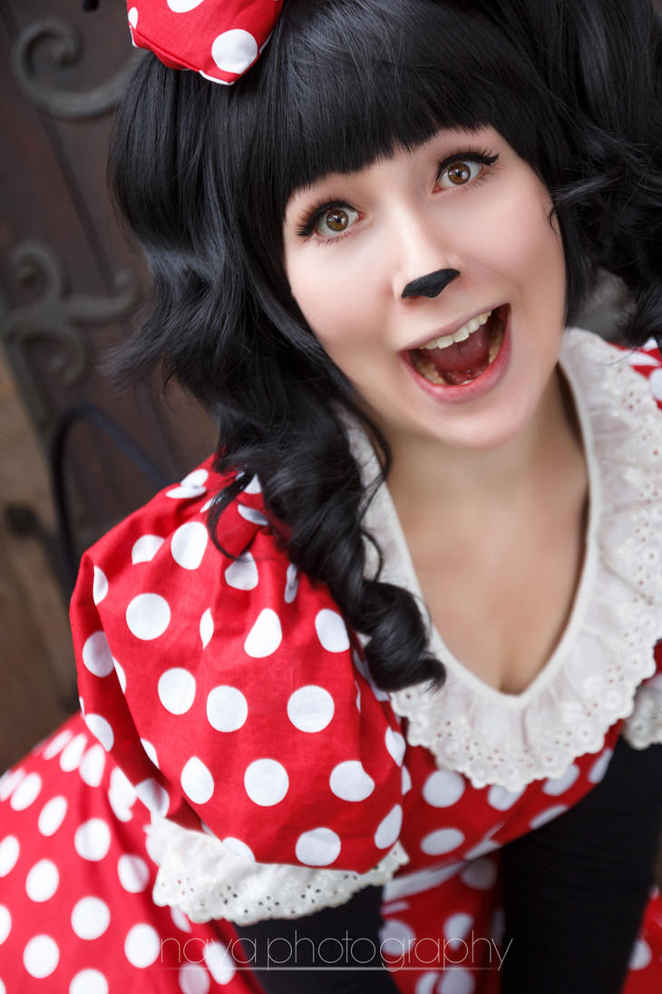 Minnie Mouse by goddessnaya