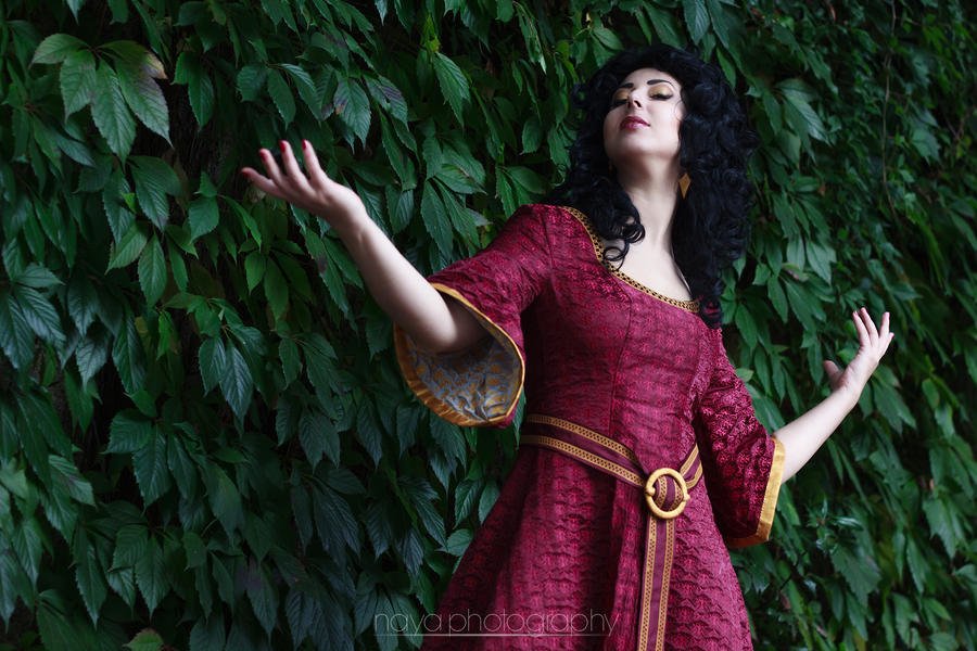 Tangled: Mother Gothel by goddessnaya