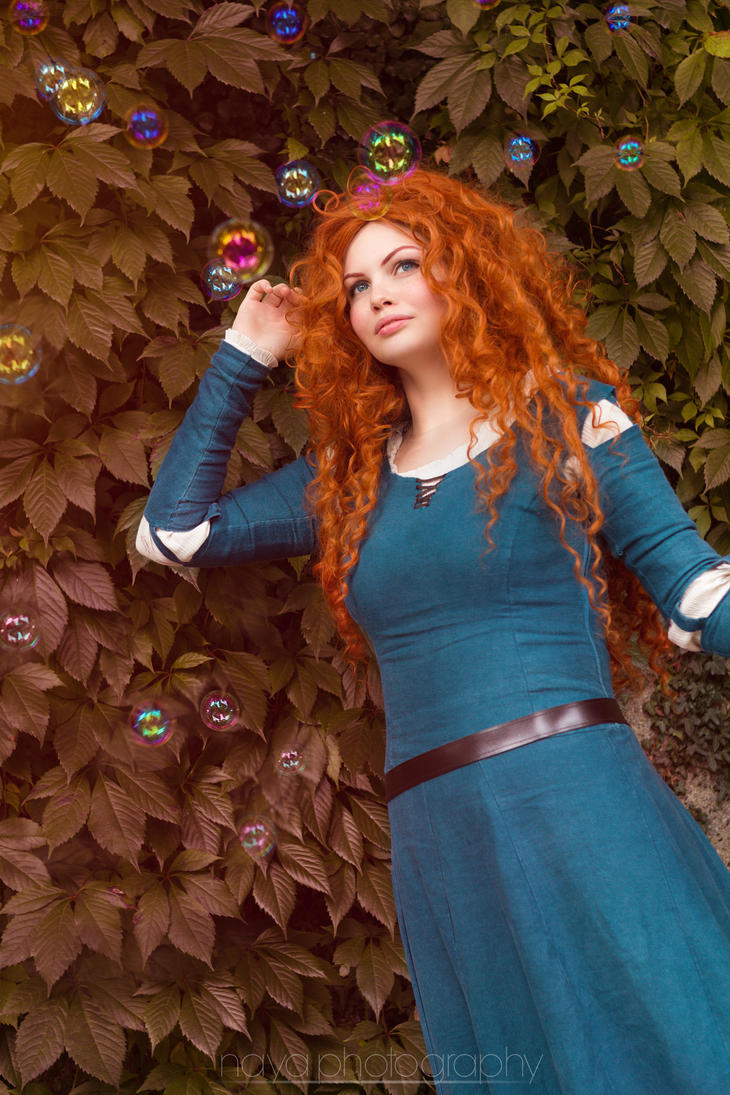 Brave: Merida by goddessnaya