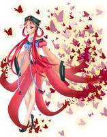Princess Kakyuu Butterflies by SailorGigi