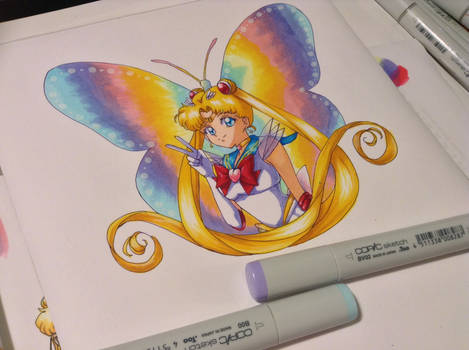 Super Sailor Moon copic