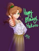 Happy Birthday,  Makoto! by SailorGigi