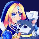 ~Commission~ Crystal Maiden 1 by SailorGigi