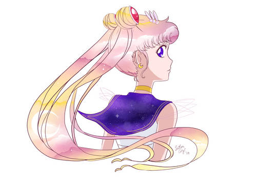 Sailor Moon Looking Back