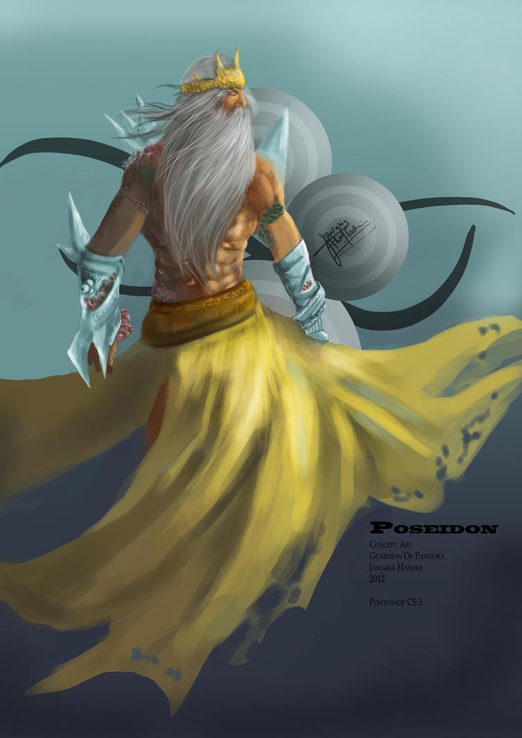 Poseidon by ArtFurry
