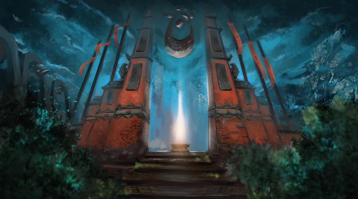 Passage _ Environment Study by ArtFurry