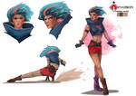 Invasion_ Quinsha Walker - Character Sheet by ArtFurry