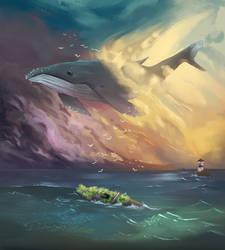 Whale Dreams Redo by ArtFurry
