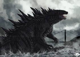 Godzilla by Surk3