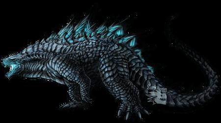 Commission - Godzilla by Surk3