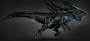 Commission - Xenomorph dino