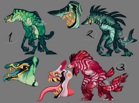 Auction - Fishes [Open]