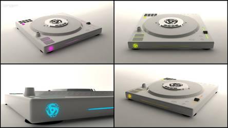 CDJ Turntable Concept