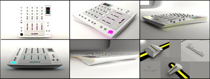 DJ Mixer concept