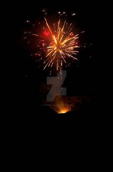 Fireworks at the Castle
