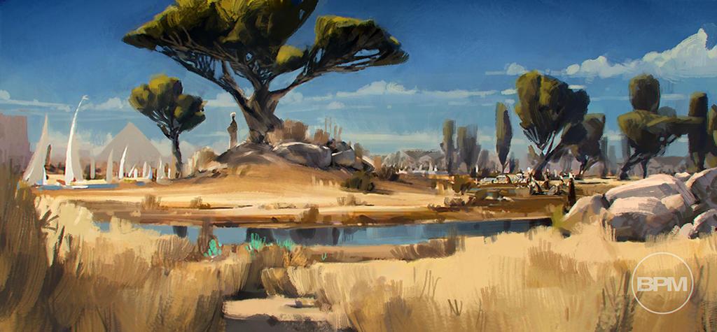 Ancient Nile by BrennanPM