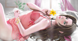 Aerith in Lingerie (FF7 Remake)
