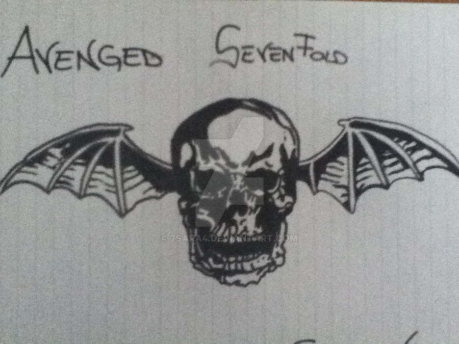 Avenged sevenfold logo by 7sara4