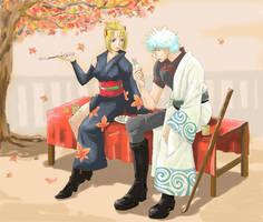 Autumn Date by Xacro