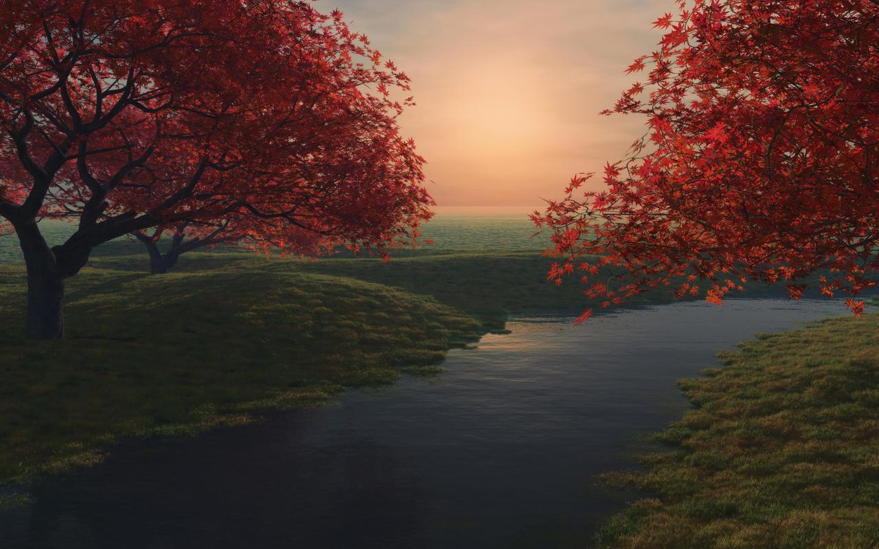 Maple pond_2560 by relhom